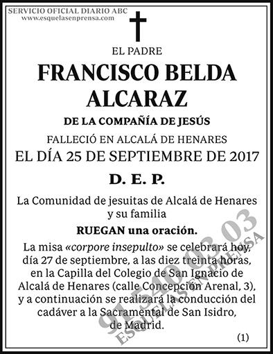 Francisco Belda Alcaraz